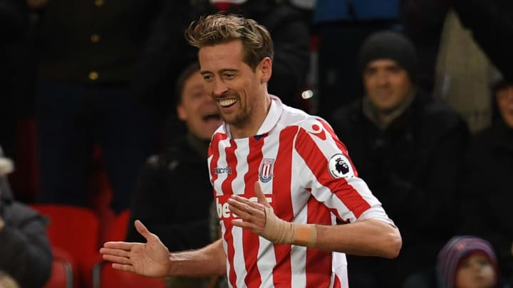 Crouch scored possibly the best goal of his career against Manchester City
