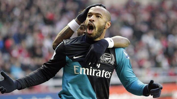 Thierry Henry a atteint la barre des 50 buts en Ligue des Champions.