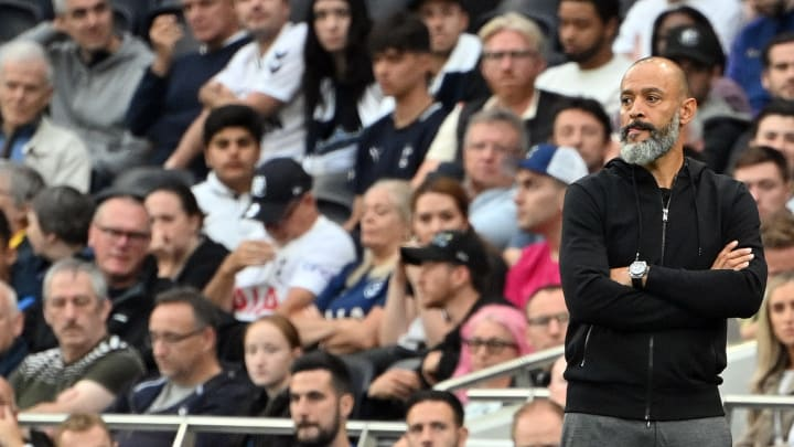 Nuno saw his side slip to defeat in the London derby