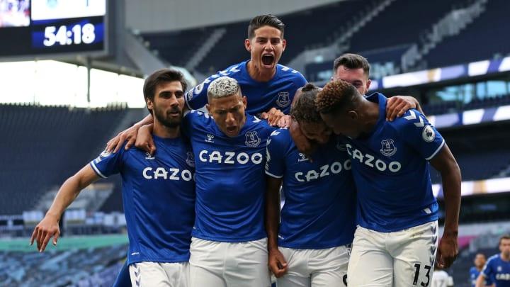 Everton Tottenham
