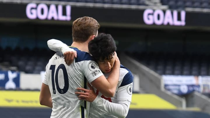 Love-in with Harry Kane continues as Son Heung-min reaches 100 Tottenham  goals
