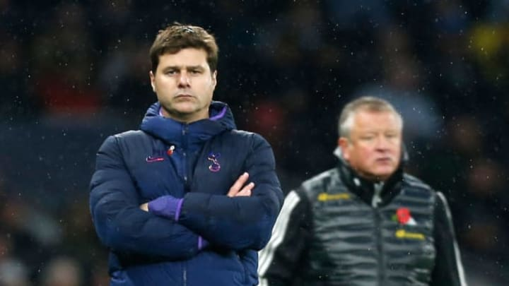Pochettino during his time as Spurs coach
