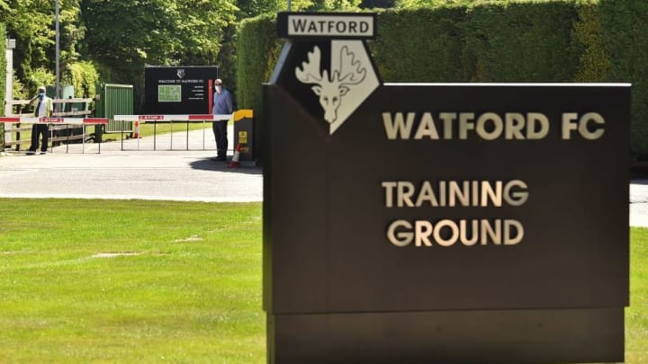 FBL-ENG-PR-WATFORD-TRAINING-HEALTH-VIRUS