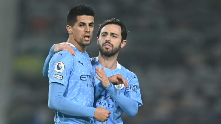 Joao Cancelo has been in excellent form for Manchester City this season