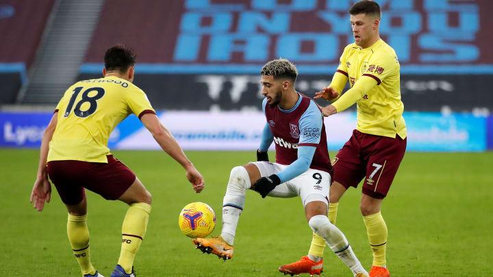 Burnley e West Ham se enfrentam pela 34ª rodada da Premier League 2020/21.