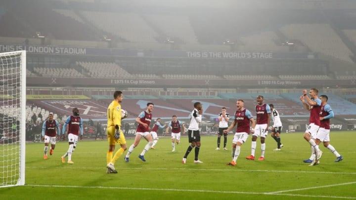 Fabianski saved a vicious Lookman penalty in November 2020