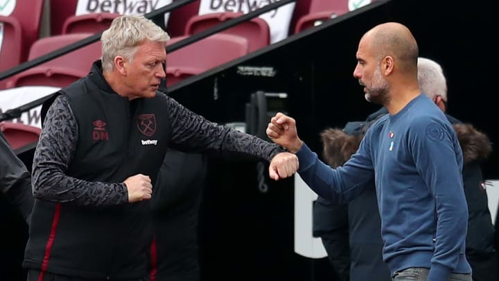 Moyes and Guardiola meet again on Saturday afternoon