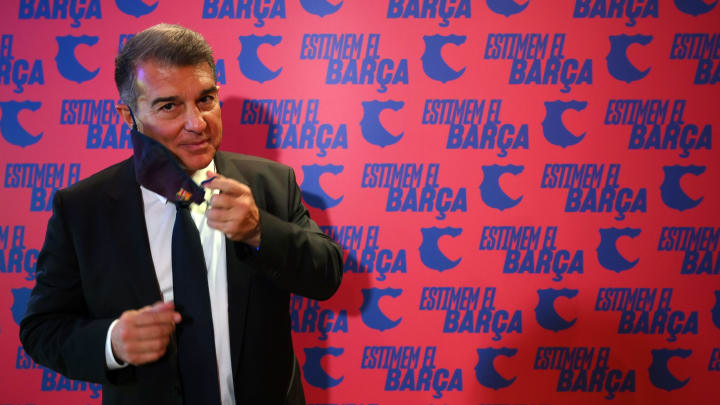 Laporta is among the favourites to become the next Barcelona club president