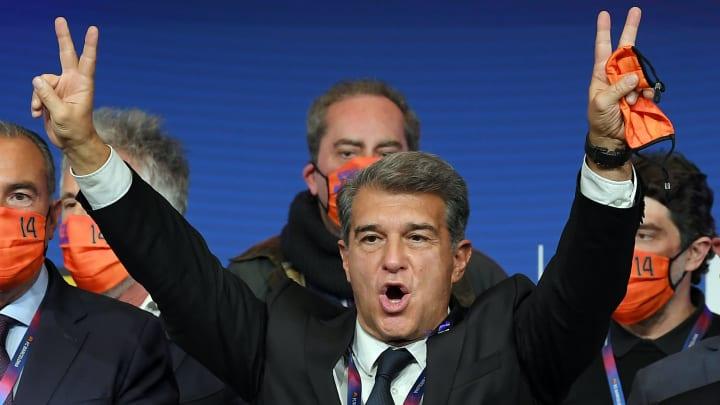 Le Barça entrevoit une nouvelle ère avec l'élection de Laporta