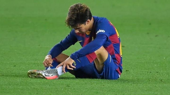 Riqui Puig impressed for Barcelona once more.