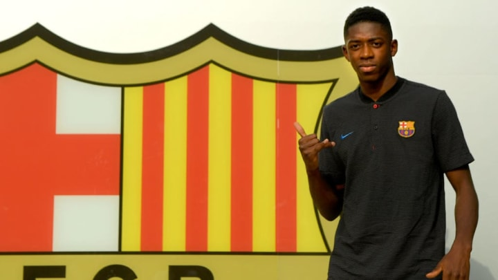 Ousmane Dembele's £97m switch to Barcelona means he's the joint-sixth most expensive footballer of all-time