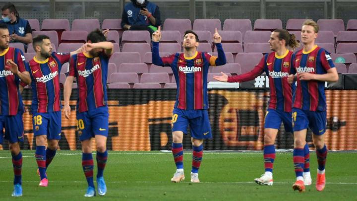 Barcelona are still in the hunt for the La Liga crown