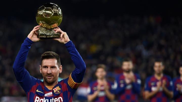 Messi Barcelona Virgil van Dijk Liverpool
