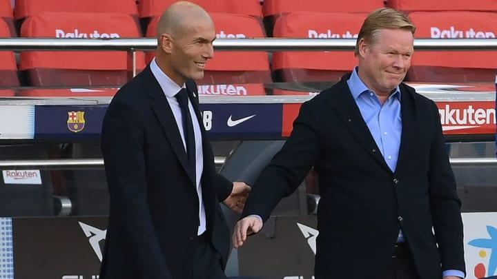 Zidane et Koeman risquent de perdre leurs places.