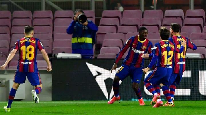 Grâce à Dembélé, le Barça rêve plus que jamais d'un titre en fin de saison