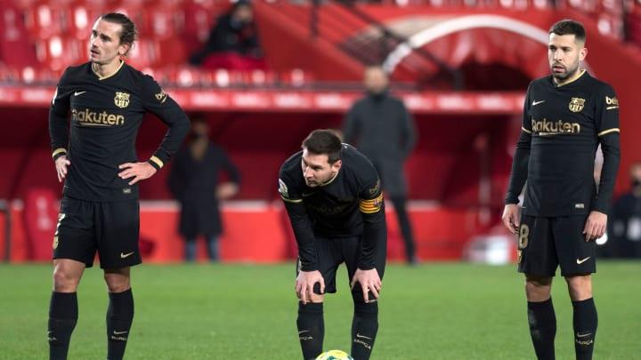 Griezmann, Messi y Jordi Alba están entre los apercibidos.