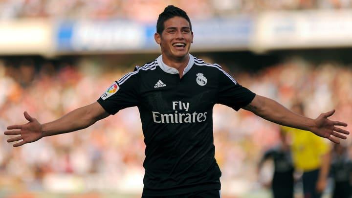 James Rodríguez chegou ao Real Madrid após a Copa de 2014.