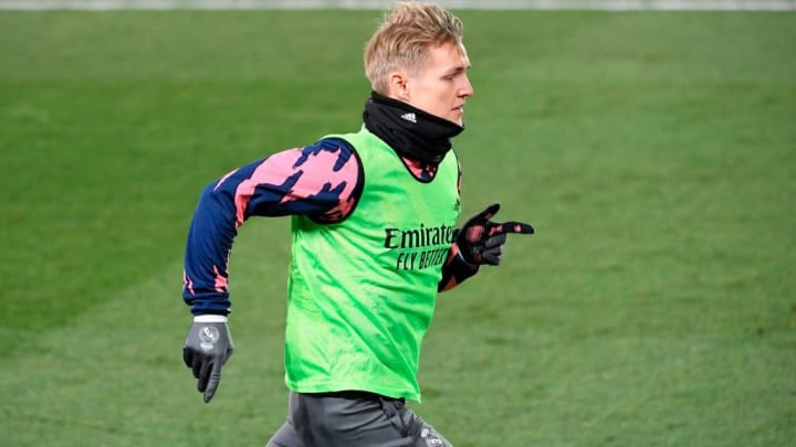 Odegaard has been limited to just seven La Liga appearances this season