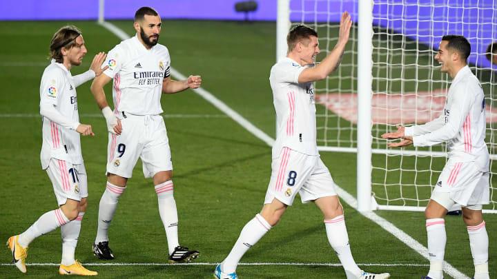 El Real Madrid arrancó 2021 con victoria