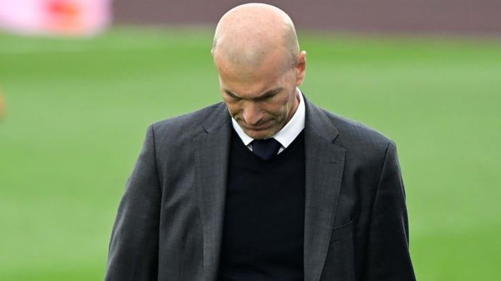 Zidane deu adeus ao Real Madrid nesta quinta-feira