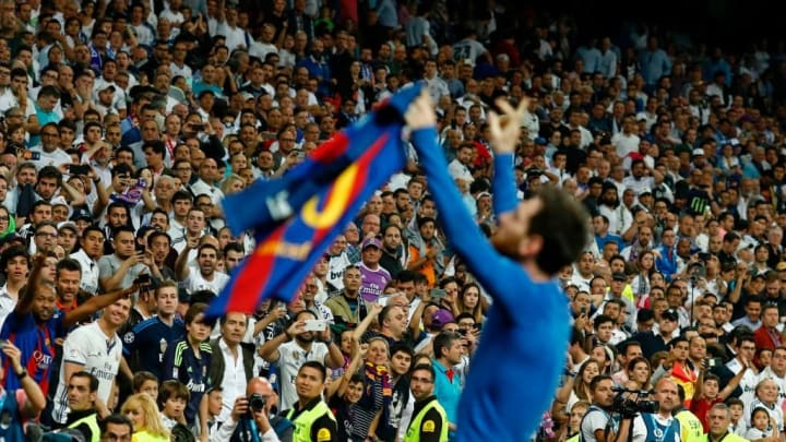 Lionel Messi El Clasico Barcelona Real Madrid
