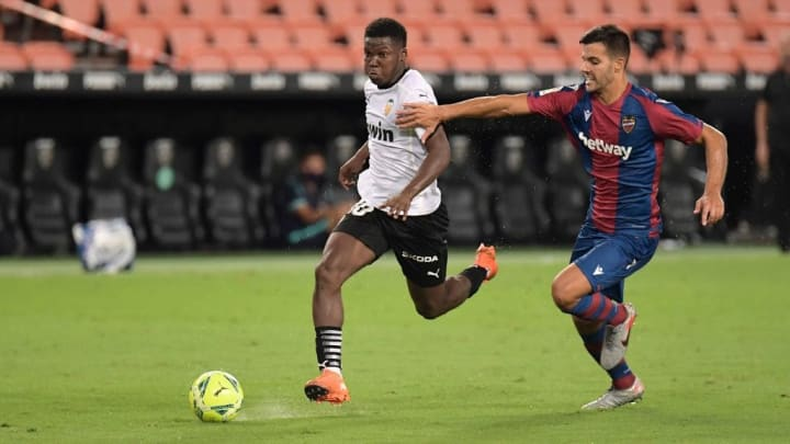 Musah became the first Englishman to play for Valencia