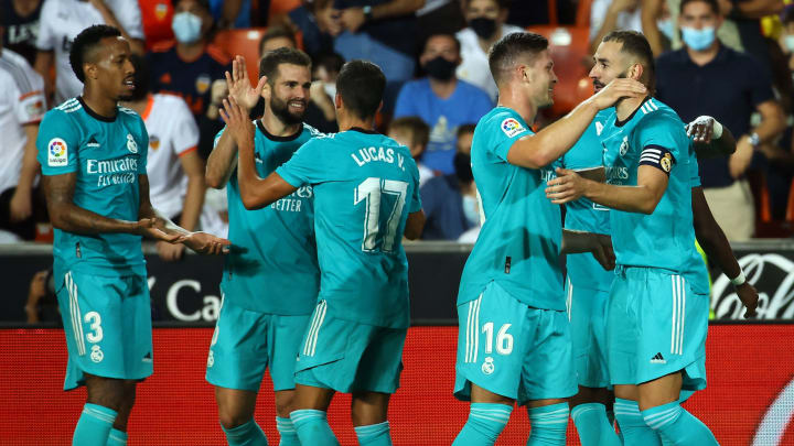 Real Madrid beat Valencia last time out