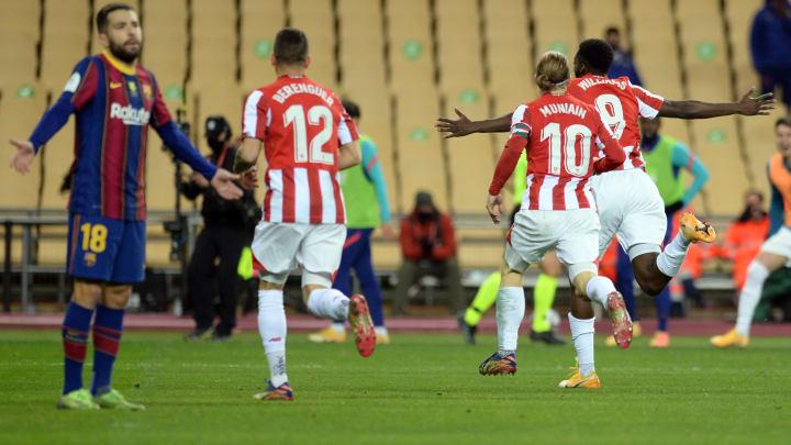 Bilbao s'est imposé au terme d'une finale de folie en Supercoupe