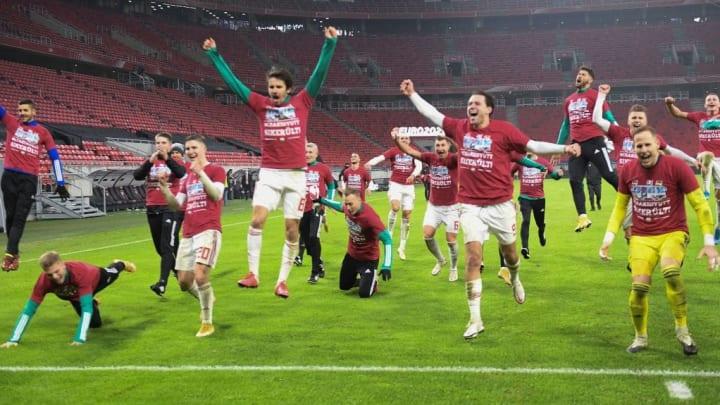 Dominik Szoboszlai's goal sent Hungary to Euro 2020