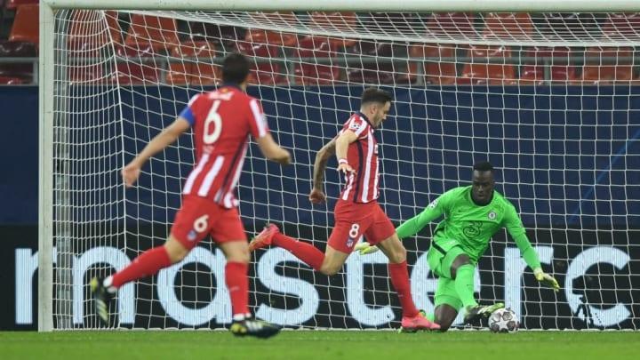 El Atlético de Madrid termina a cero