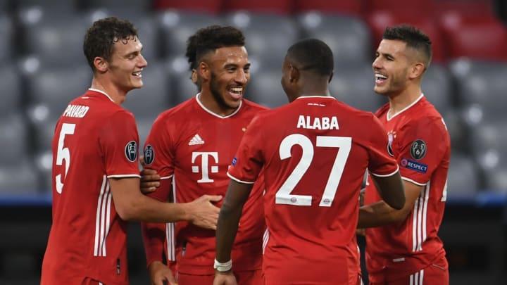Die Bayern-Stars hatten gut lachen
