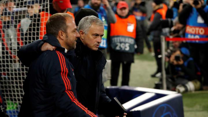 Sehen wir Hansi Flick und José Mourinho bald in umgekehrten Rollen?
