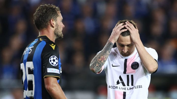 It was a night to forget for Lionel Messi and PSG