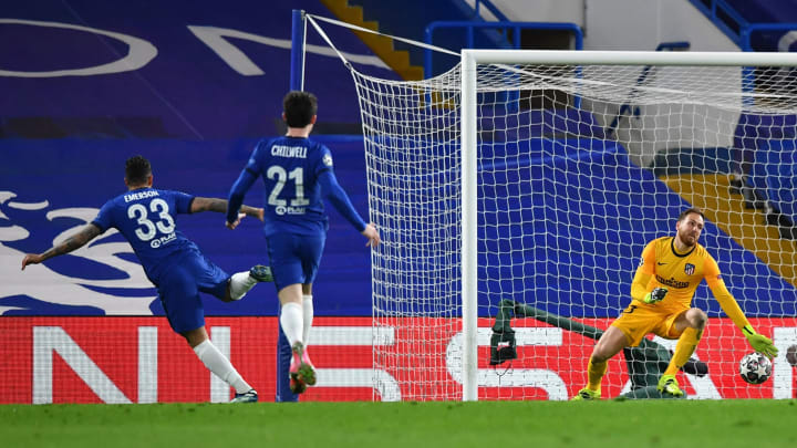Emerson scored Chelsea's late second