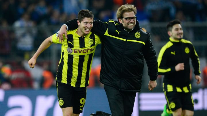 Robert Lewandowski, Jürgen Klopp, Borussia Dortmund