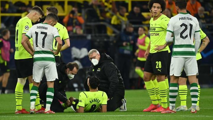 Dahoud verletzte sich beim Sporting-Duell früh