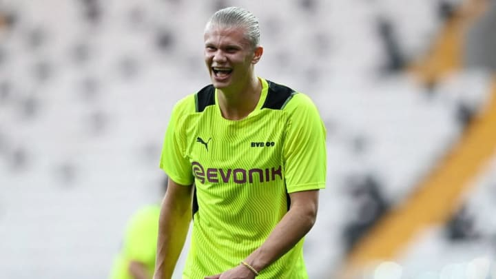 Erling Haaland Borussia Dortmund Champions League Besiktas