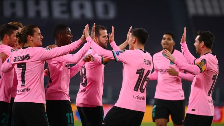 Barcelona triumphed in the reverse fixture