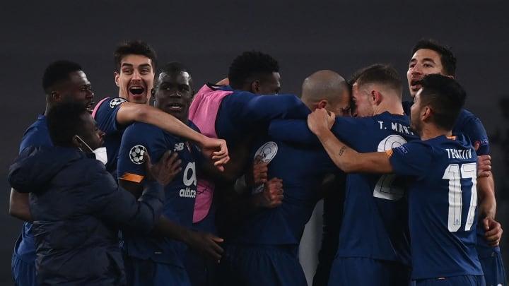 Schafften die Überraschung und warfen Juventus aus der Champions League: die Spieler des FC Porto