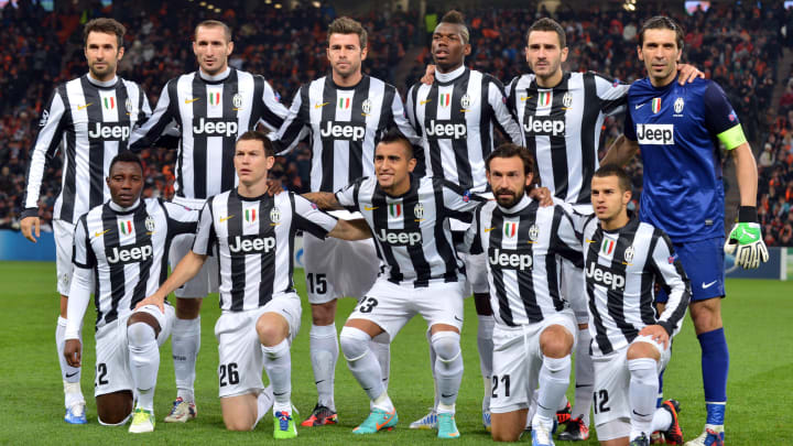 Pogba in a star-studded Juventus team