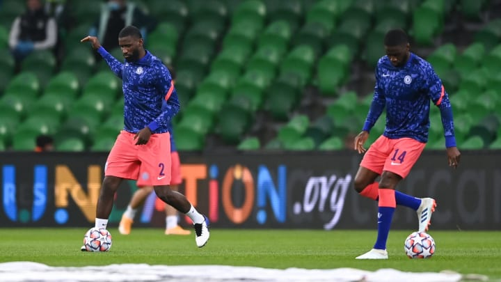 Rudiger (left) and Tomori could be on their way out of Stamford Bridge