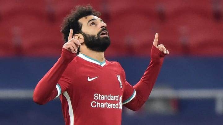 Mohamed Salah scored for Liverpool against RB Leipzig in the Champions League