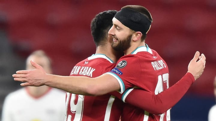 Nat Phillips and Ozan Kabak starred for Liverpool against RB Leipzig in the Champions League