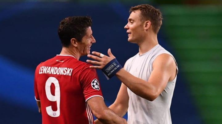 Manuel Neuer, Bayern de Munique, Robert Lewandowski