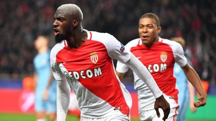 Tiemoué Bakayoko, un autre grand artisan de la victoire 3-1 de Monaco contre Manchester City en 2017.
