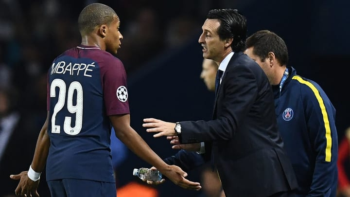 Unai Emery admits he had to encourage Kylian Mbappe to stay with PSG