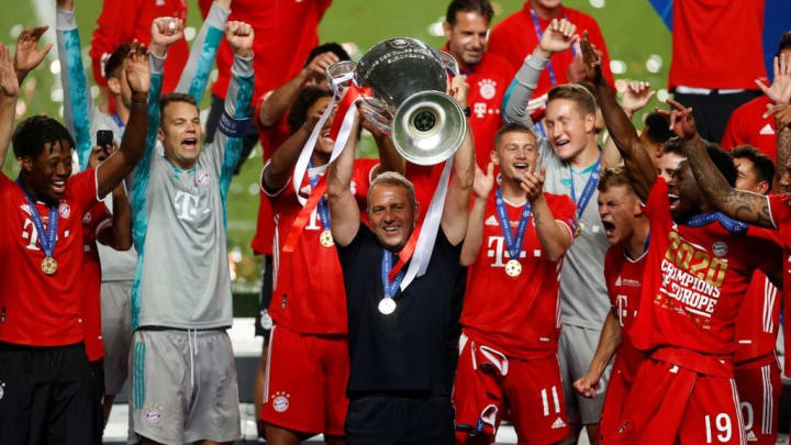 Flick guided Bayern to Champions League glory last season