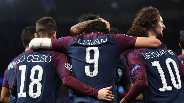 Most of PSG's starting lineup got in on the act in what was a harrowing night for Celtic