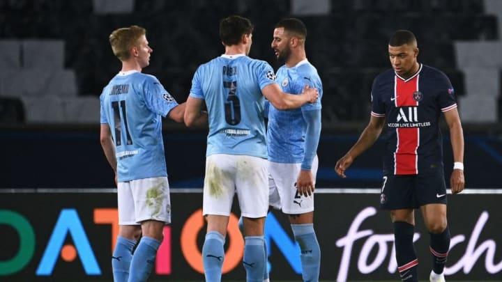 Manchester City Champions League PSG Semifinal