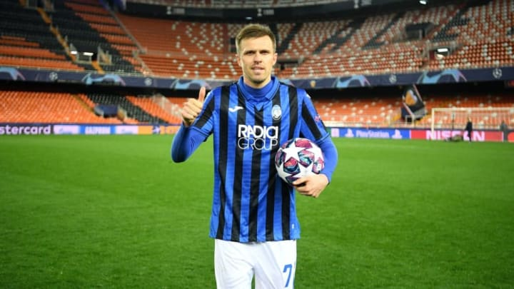 Josip Ilicic scored four against Valencia in the Champions League